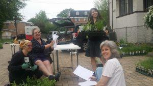 Happy plant people! Photo: Cassandra West