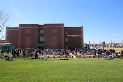 Morton Freshman Center Monarch Garden
